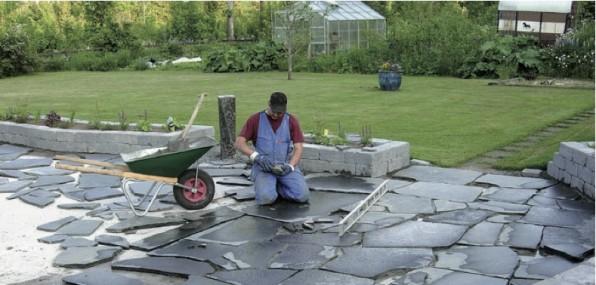 Trädgård trädgård betong : Guide: Gjutning av natursten i betong – Flisbybloggen – Bloggen ...